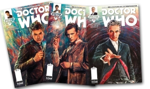 I am so excited, and grateful, to have these wonderful comics now that Doctor Who Season 8 (or 34) is over! The withdrawals would be unbearable without them ;)